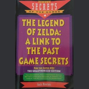 prima's secrets games zelda a link to the past