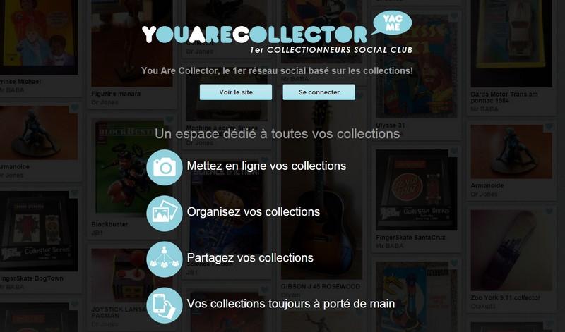 réseau social collectionneur