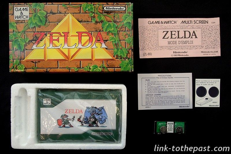 game and watch zelda neuf