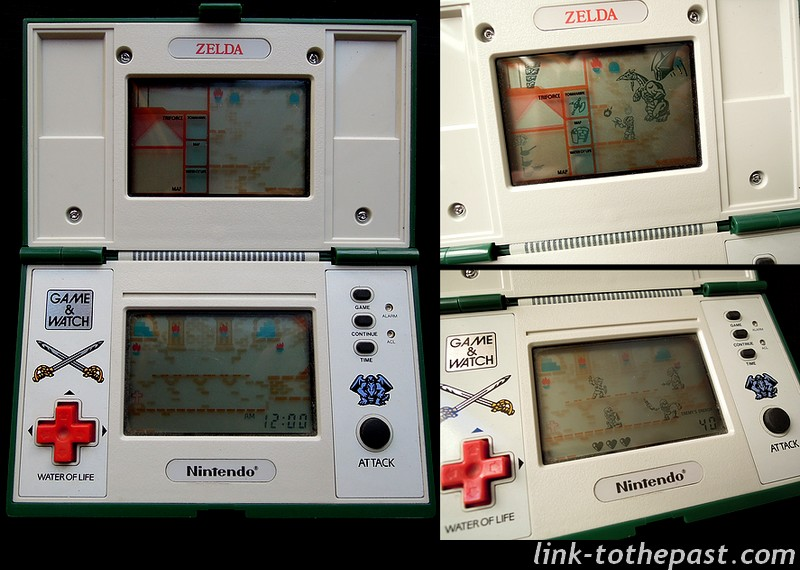 screens game and watch zelda