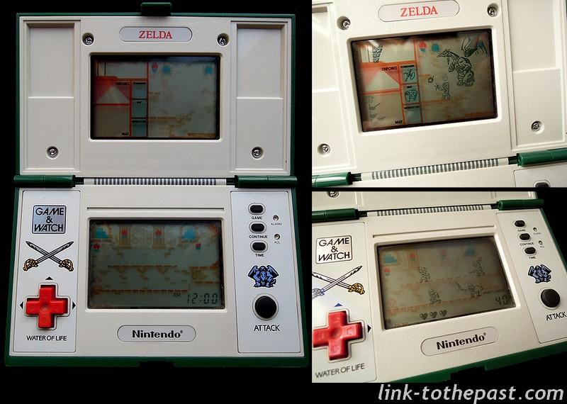screens game and watch zelda