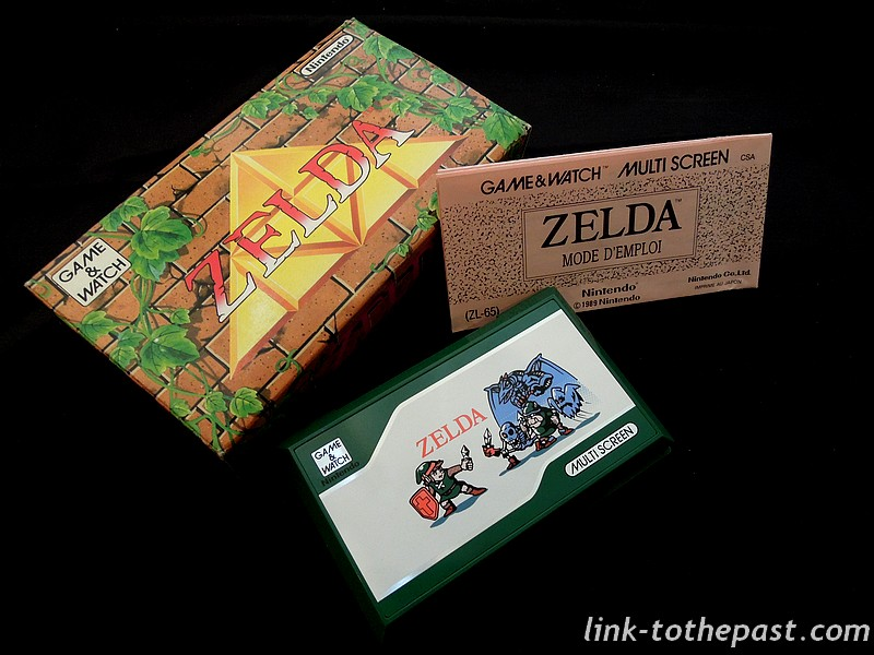game and watch zelda complet