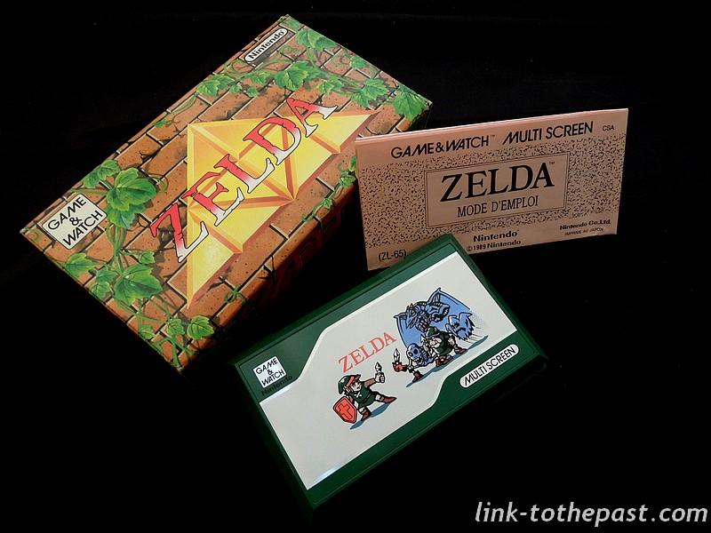 game and watch zelda complet