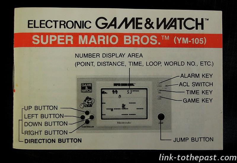notice game and watch super mario bros