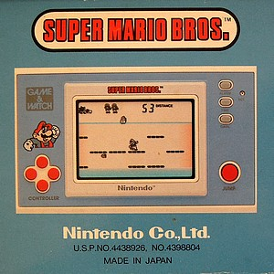 Le Game and Watch Super Mario Bros 1