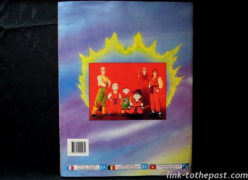 album panini dbz fr