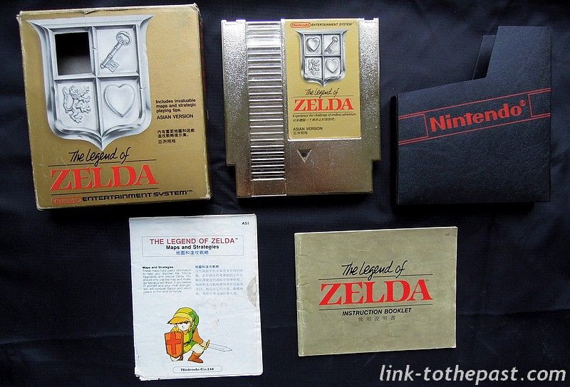 zelda nes asian version