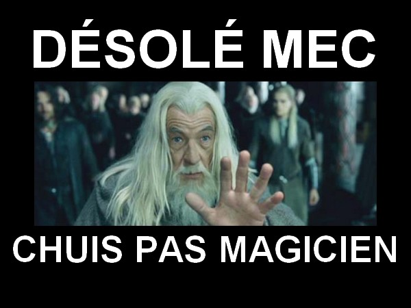gandalf magic