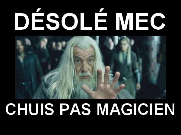 gandalf magic