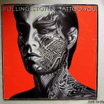 vinyle rolling stones tattoo you