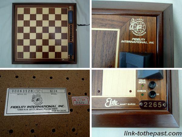 Fidelity Elite Avant Garde Chess
