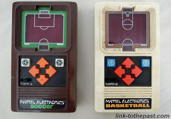 Mattel electronics Basketball Soccer