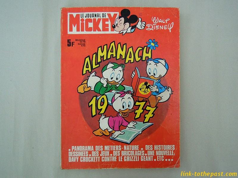 almanach journal mickey 1977