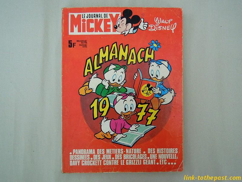 almanach journal mickey 1977