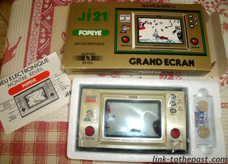 Game and Watch Popeye Alsthom Atlantique Ji21