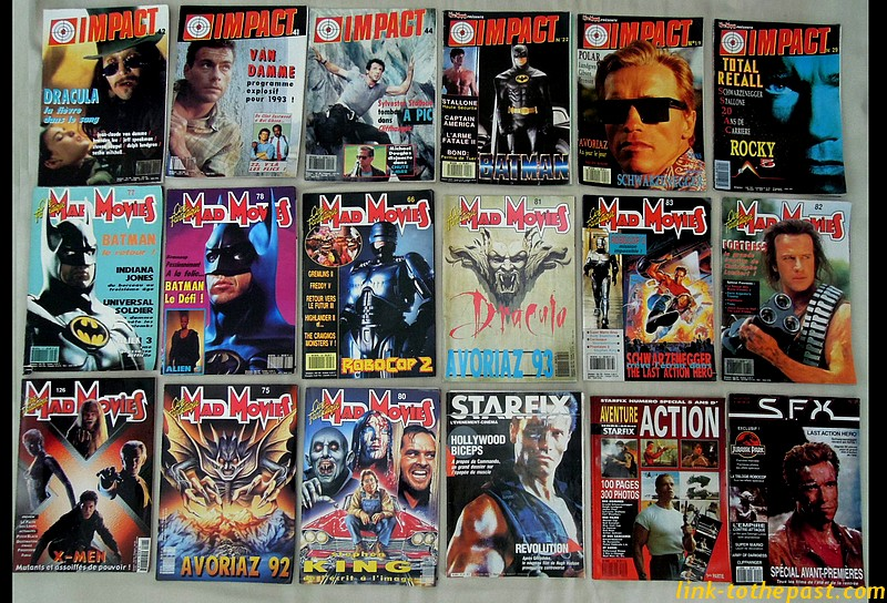 magazines mad movies