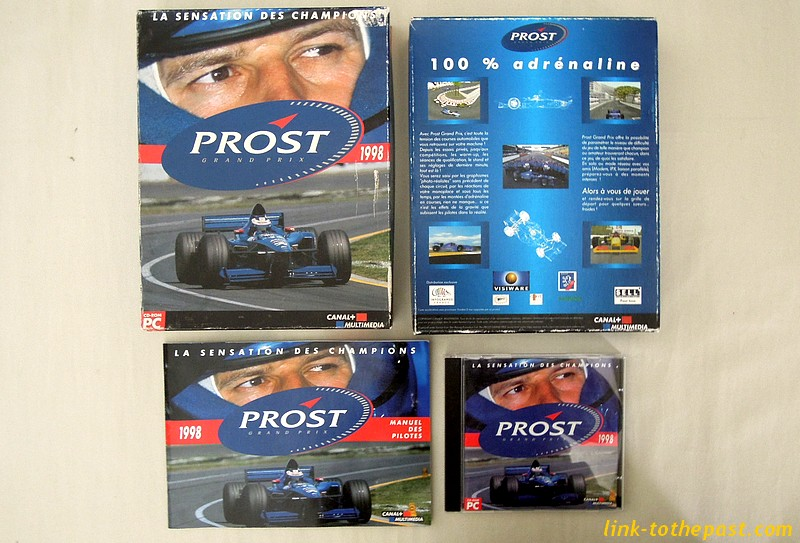 jeu pc Alain Prost Grand Prix