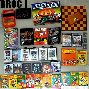 Brocante : Jeux vidéo, jeux électroniques, jeu d'échec 3
