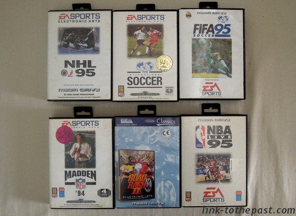 Jeux Mega Drive EA Sports