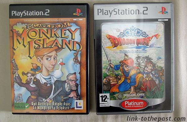 Dragon Quest Monkey Island sur PS2