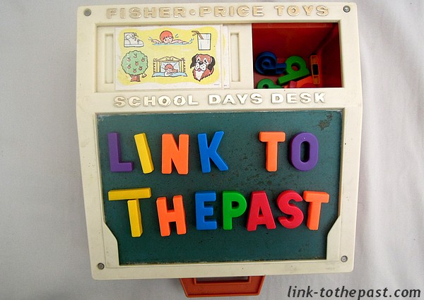 fisher price link-tothepast