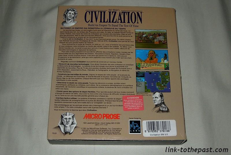 civilization 1 pc version française