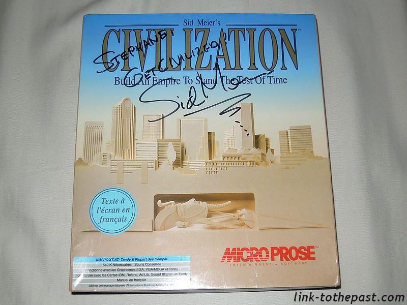 civilization sid meier signed