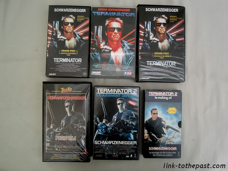 Collection Terminator VHS