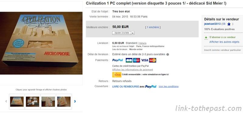 ebay civilization pc