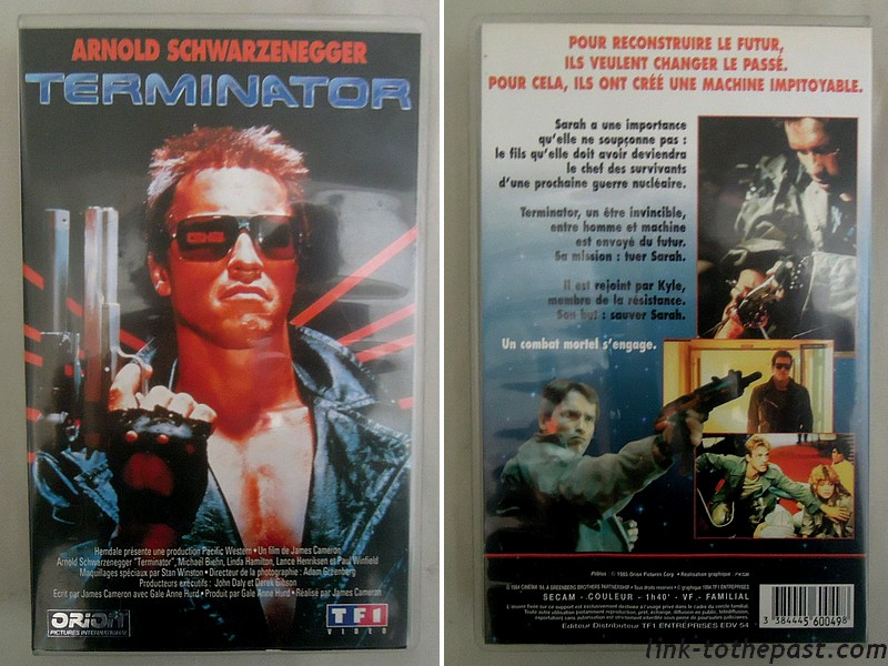 Cassette VHS Terminator