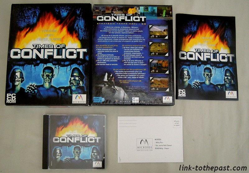 Times of conflict PC microids