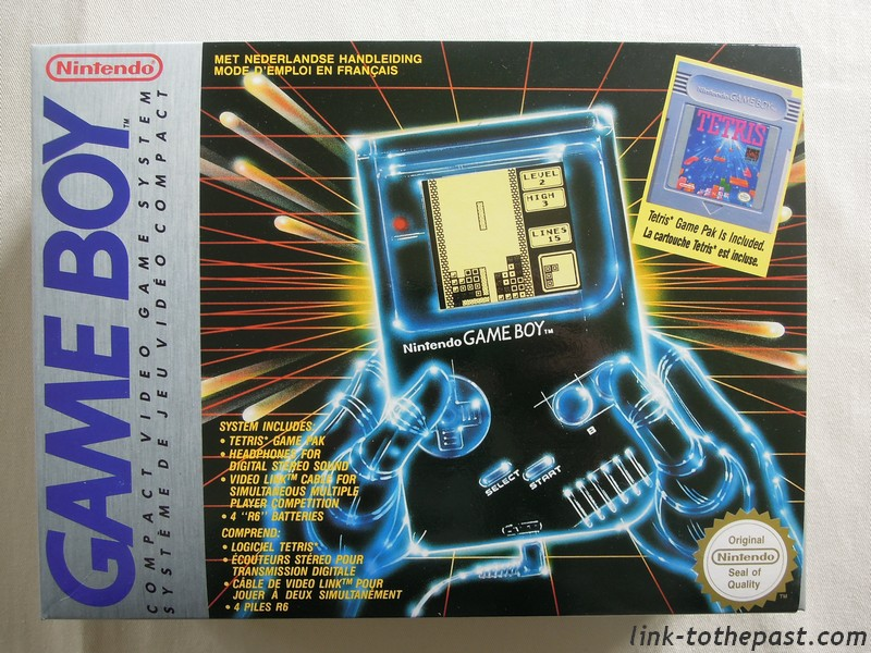 Pack Game Boy Tetris