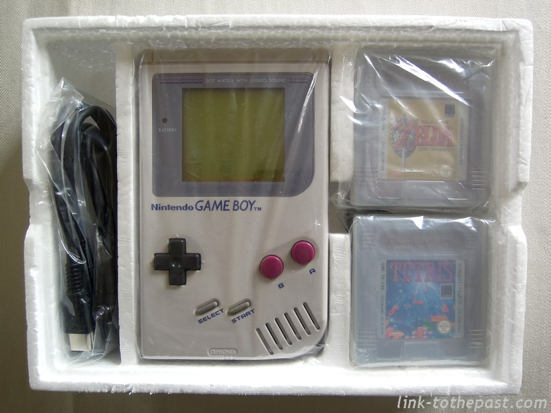 Pack Game Boy Zelda Tetris