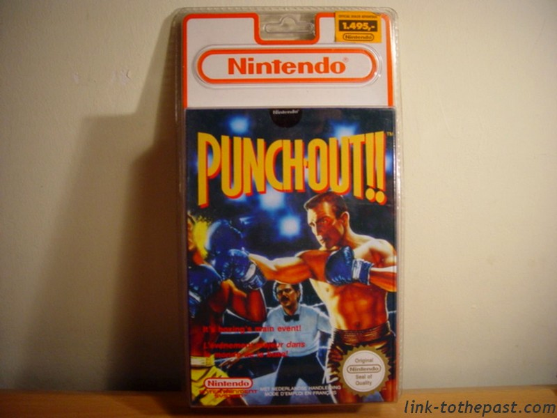 punch out nes blister rigide