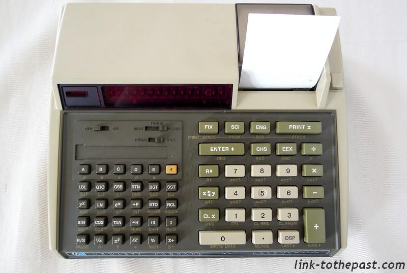 calculatrice Hewlett Packard HP97