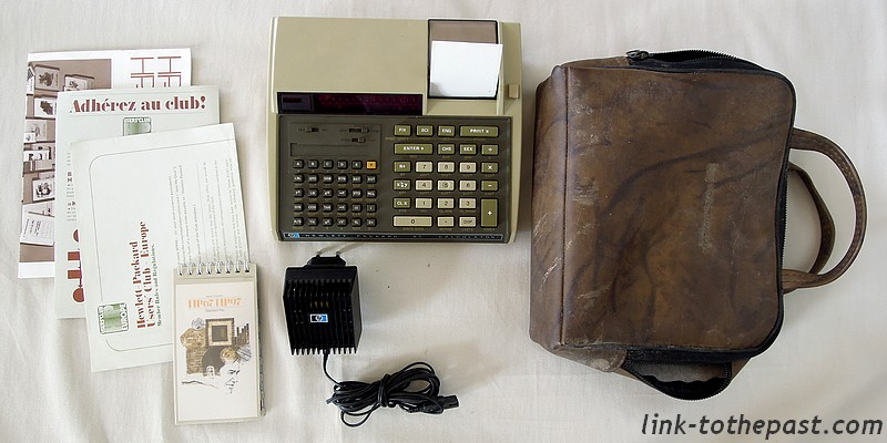 calculatrice HP97