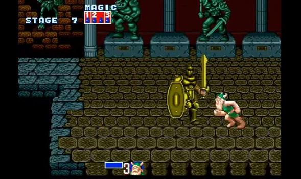 golden axe stage 7