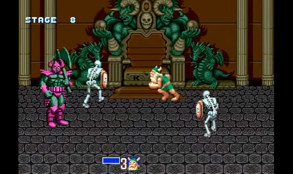 golden axe death Vadder