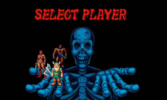 golden axe player