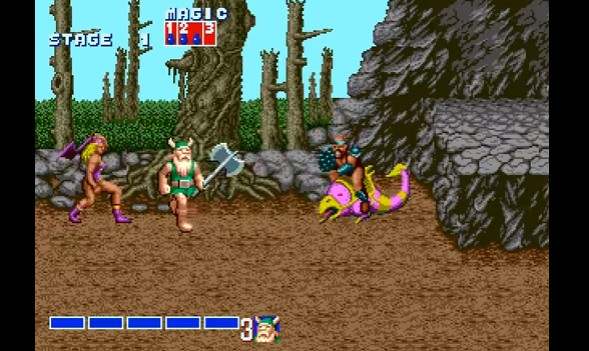 goldenaxe stage 1