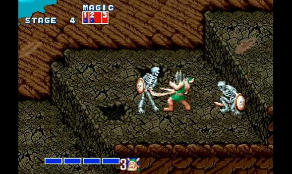 golden axe squelette