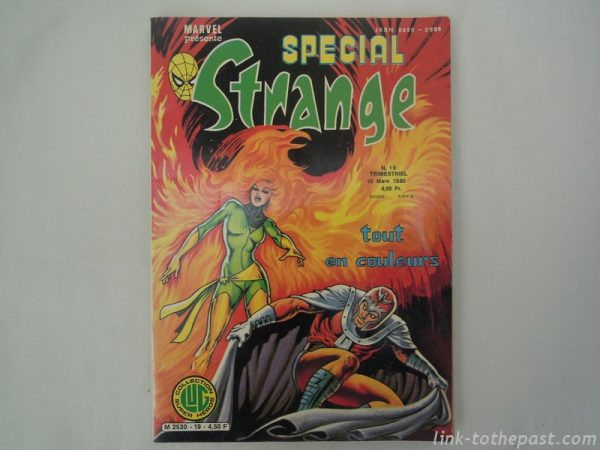Comic special strange 19