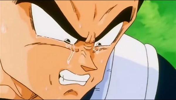 végéta pleure