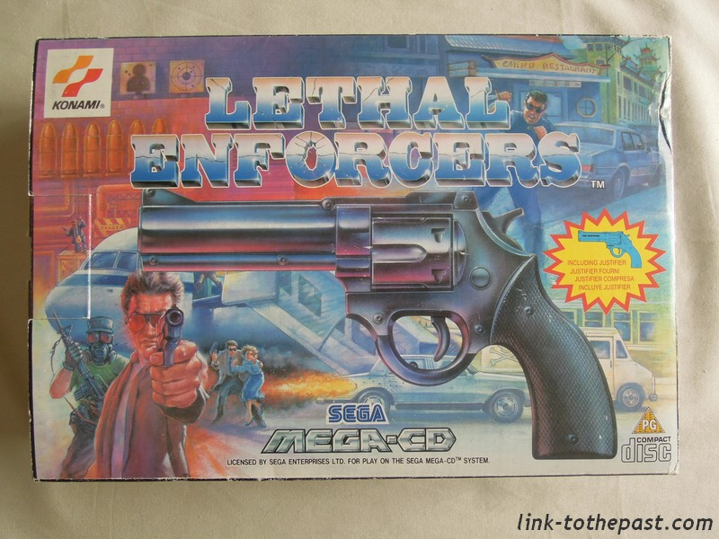 coffret lethal enforcers mega cd