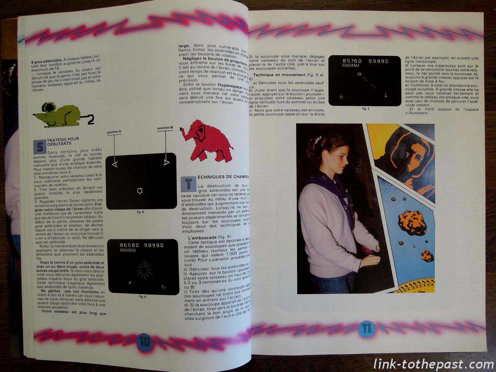 les secrets des jeux vidéo arcade