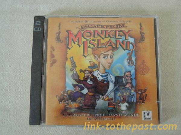 Escape from Monkey Island Lucas Arts