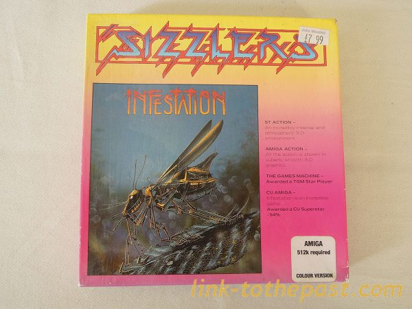 sizzlers infestation amiga