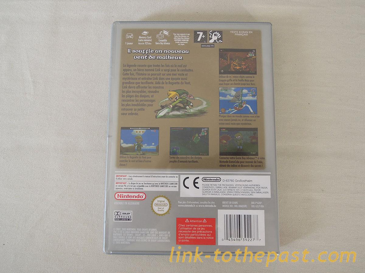 ZELDA The Wind Waker sur gamecube