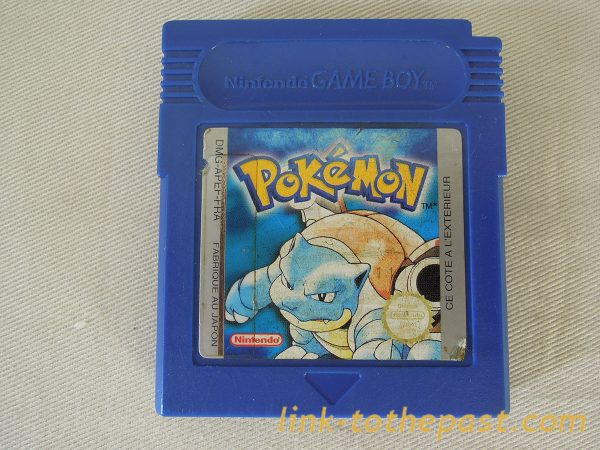 POKEMON bleu sur Game Boy 1