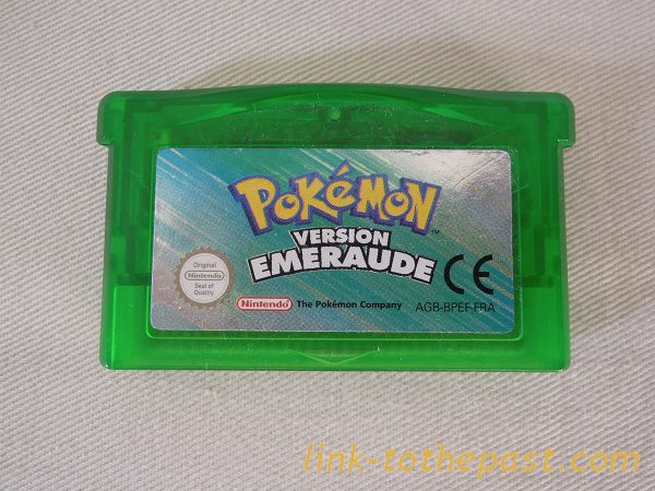 POKEMON ÉMERAUDE sur Game Boy Advance GBA 1